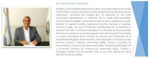 Referencias Dr. Tambussi